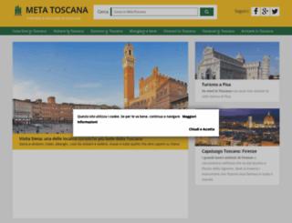 metatoscana.it screenshot