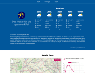 meteo-eifel.de screenshot