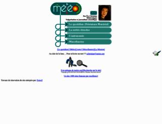 meteo.org screenshot
