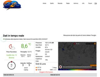meteotreviglio.com screenshot