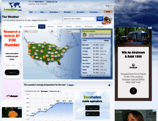 meteoweb.freemeteo.com screenshot