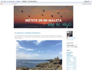 meteteenmimaleta.blogspot.com screenshot