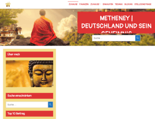 metheney.net screenshot