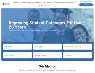 methodtestprep.com screenshot