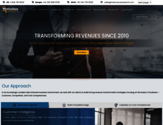 meticulousresearch.com screenshot