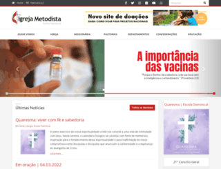 metodista.org.br screenshot