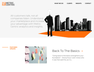metric-centric.com screenshot