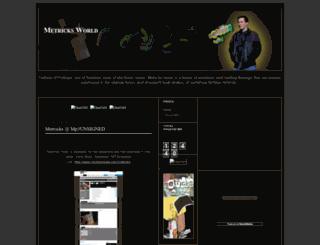 metricksworld.blogspot.com screenshot