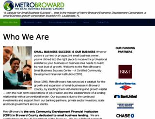 metrobroward.org screenshot
