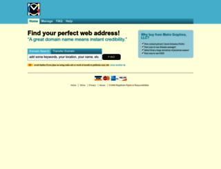 metrographics.shopco.com screenshot