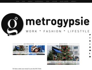 metrogypsie.org screenshot