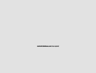 metroid-database.com screenshot