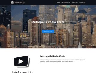 metropolis-radio.blogspot.com screenshot