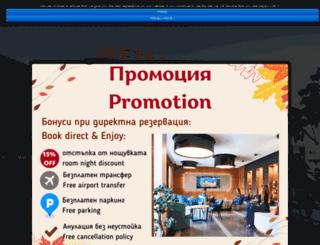 metropolitanhotelsofia.com screenshot