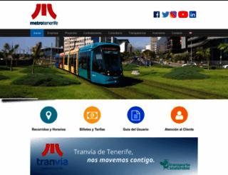 metrotenerife.com screenshot