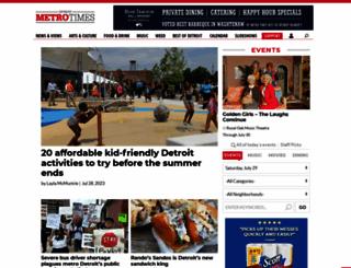 metrotimes.com screenshot