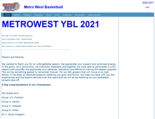 metrowestbball.com screenshot