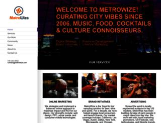 metrowize.com screenshot