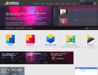 metus.com screenshot