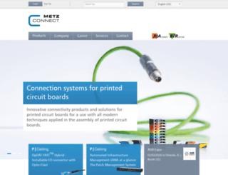 metz-connect.com screenshot