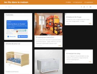 meuble-lit.fr screenshot