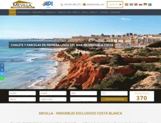 mevilla.com screenshot