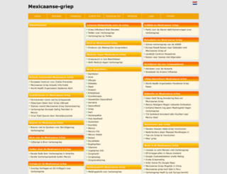 mexicaanse-griep.beginthier.nl screenshot