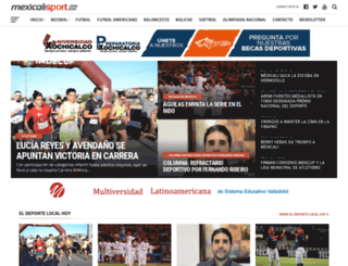 mexicalisport.com screenshot