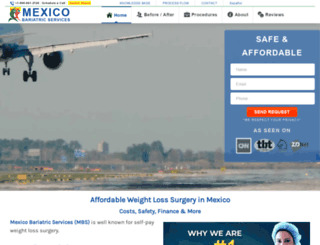 mexicobariatricservices.com screenshot
