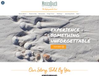 mexicobeach.com screenshot
