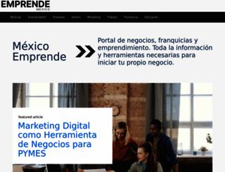 mexicoemprende.org.mx screenshot