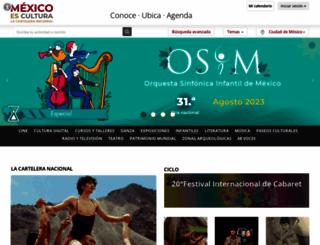 mexicoescultura.com screenshot