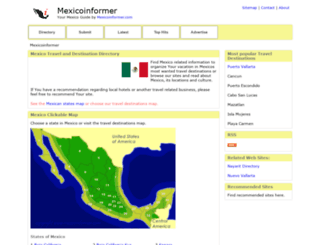 mexicoinformer.com screenshot