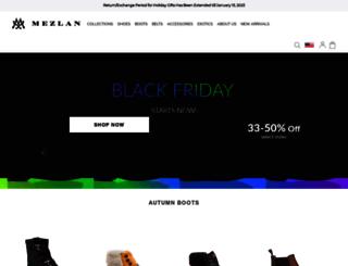 mezlan.com screenshot