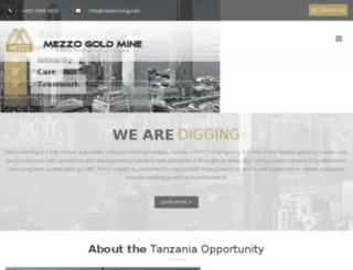mezzomining.com screenshot