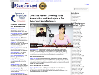 mfgpartners.net screenshot