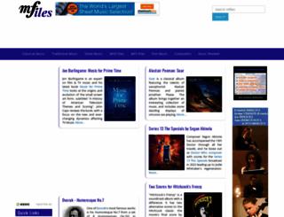mfiles.co.uk screenshot
