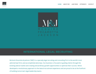 mfjinternational.com screenshot