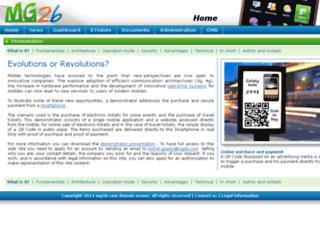mg2b.com screenshot
