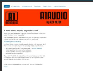 mgaudio.de screenshot