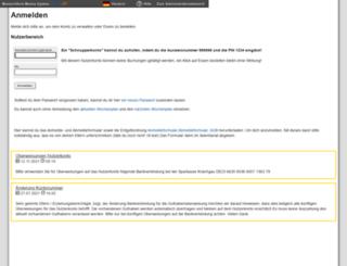 mgb.sams-on.de screenshot