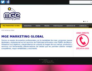 mge-marketing.com.mx screenshot