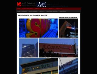 mgglobalads.com screenshot