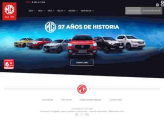mgmotors.com.pe screenshot