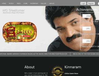 mgsreekumar.com screenshot