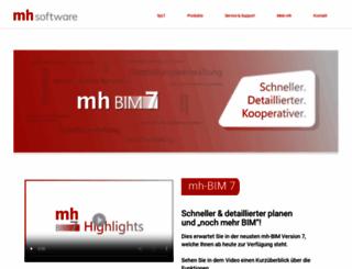 mh-software.de screenshot