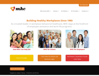 mhconsultants.com screenshot