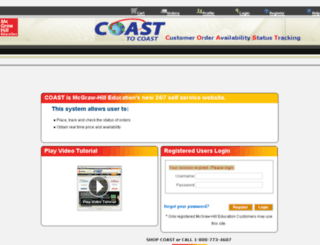 mhecoast2coast.com screenshot