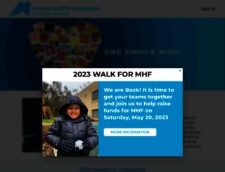 mhf.org screenshot