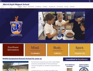 mhm.sumnerschools.org screenshot